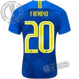 Camisa Brasil - Modelo II (FIRMINO #20)