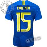 Camisa Brasil - Modelo II (PAULINHO #15)
