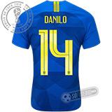 Camisa Brasil - Modelo II (DANILO #14)