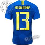 Camisa Brasil - Modelo II (MARQUINHOS #13)