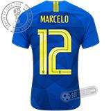 Camisa Brasil - Modelo II (MARCELO #12)