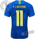 Camisa Brasil - Modelo II (P. COUTINHO #11)