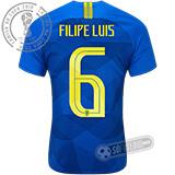 Camisa Brasil - Modelo II (FILIPE LUIS #6)