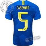 Camisa Brasil - Modelo II (CASEMIRO #5)