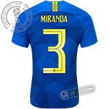 Camisa Brasil - Modelo II (MIRANDA #3)
