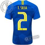 Camisa Brasil - Modelo II (T. SILVA #2)