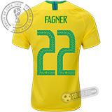 Camisa Brasil - Modelo I (FAGNER #22)