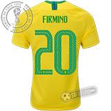 Camisa Brasil - Modelo I (FIRMINO #20)