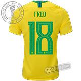 Camisa Brasil - Modelo I (FRED #18)