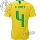 Camisa Brasil - Modelo I (GEROMEL #4)