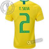 Camisa Brasil - Modelo I (T. SILVA #2)