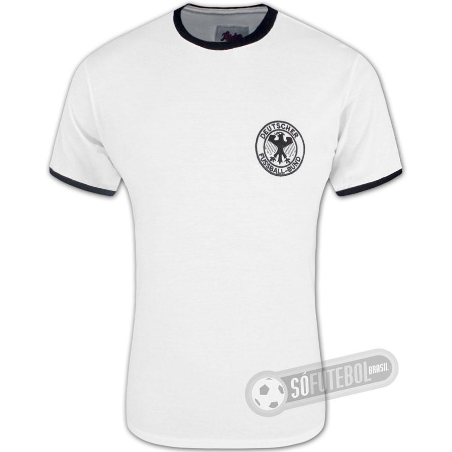 Camisa Alemanha 1974 - Modelo I - Liga Retrô. Carregando. 2fa47a3b78709