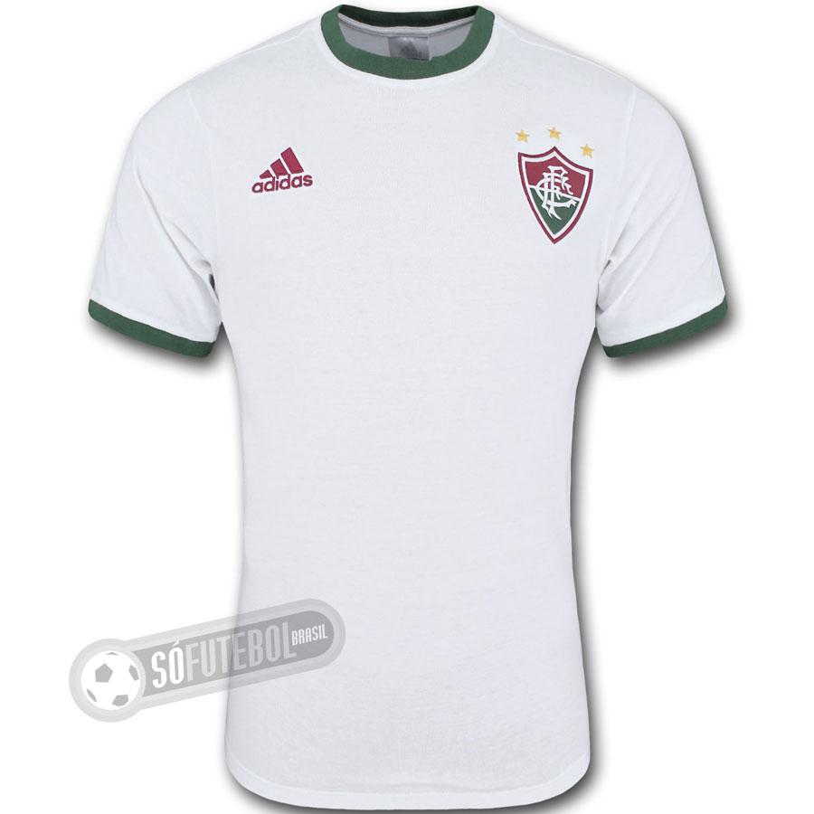 Camisa Fluminense - Modelo II - Retrô (Algodão). Carregando. 1a6b3709eb150