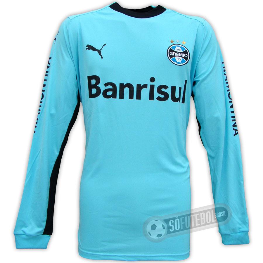 57dd385f832aa Camisa Oficial Grêmio - Goleiro - Promoção