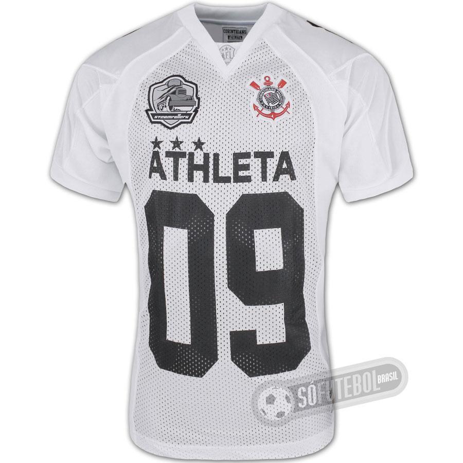 3bca6e0c6a Camisa Corinthians - Modelo I - Futebol Americano. Carregando.