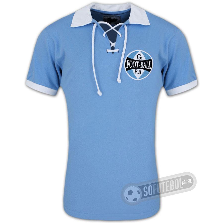 e9f78387e3 Camisa Grêmio 1912 - Modelo II - Liga Retrô. Carregando.