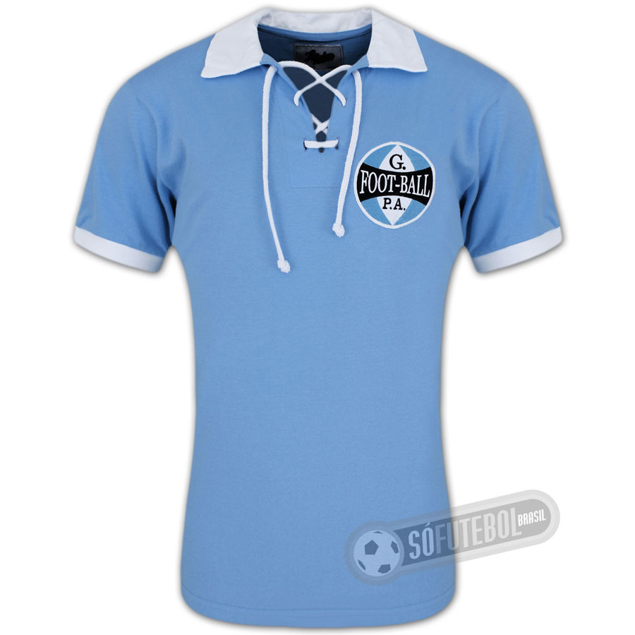 0c1cfe8dac77c Camisa Grêmio 1912 - Modelo II - Liga Retrô
