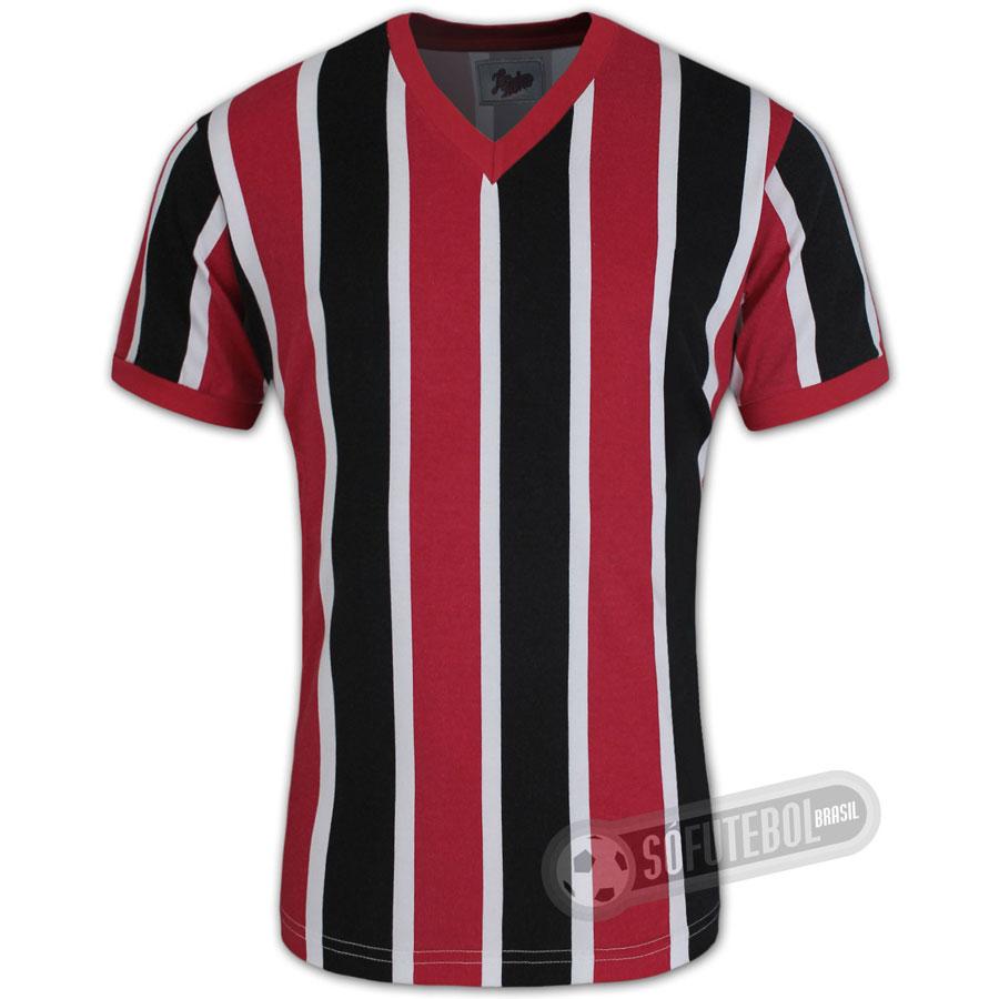 ddd7ce2ce5b03 Camisa São Paulo da Floresta 1933 - Modelo II - Liga Retrô. Carregando.