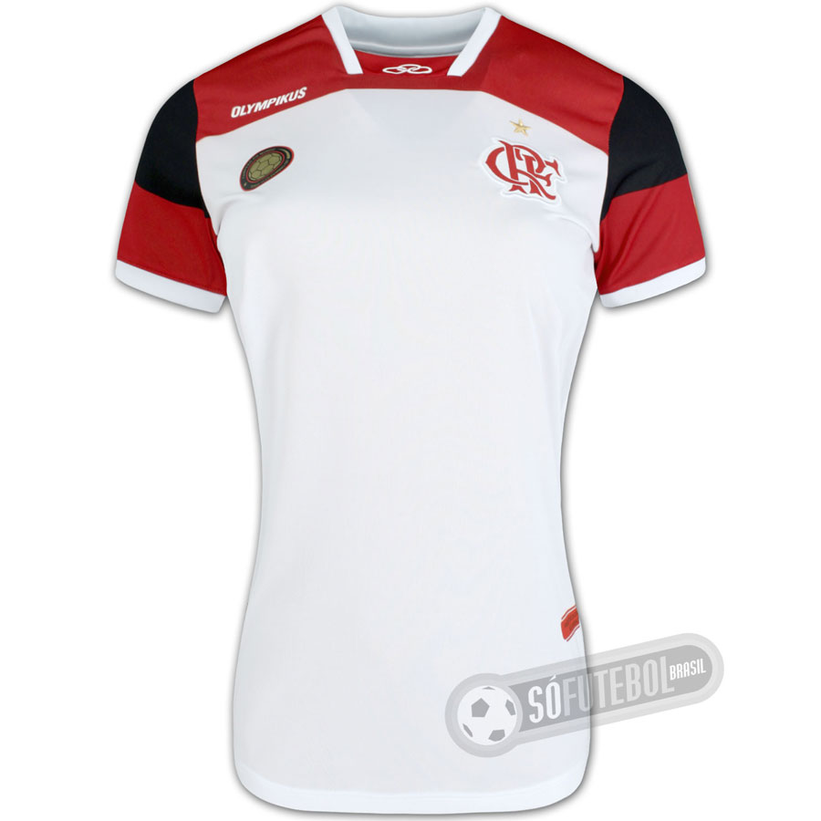 5cb6e9bf4880c Camisa Flamengo - Modelo II - Ronaldinho  10 - Feminina