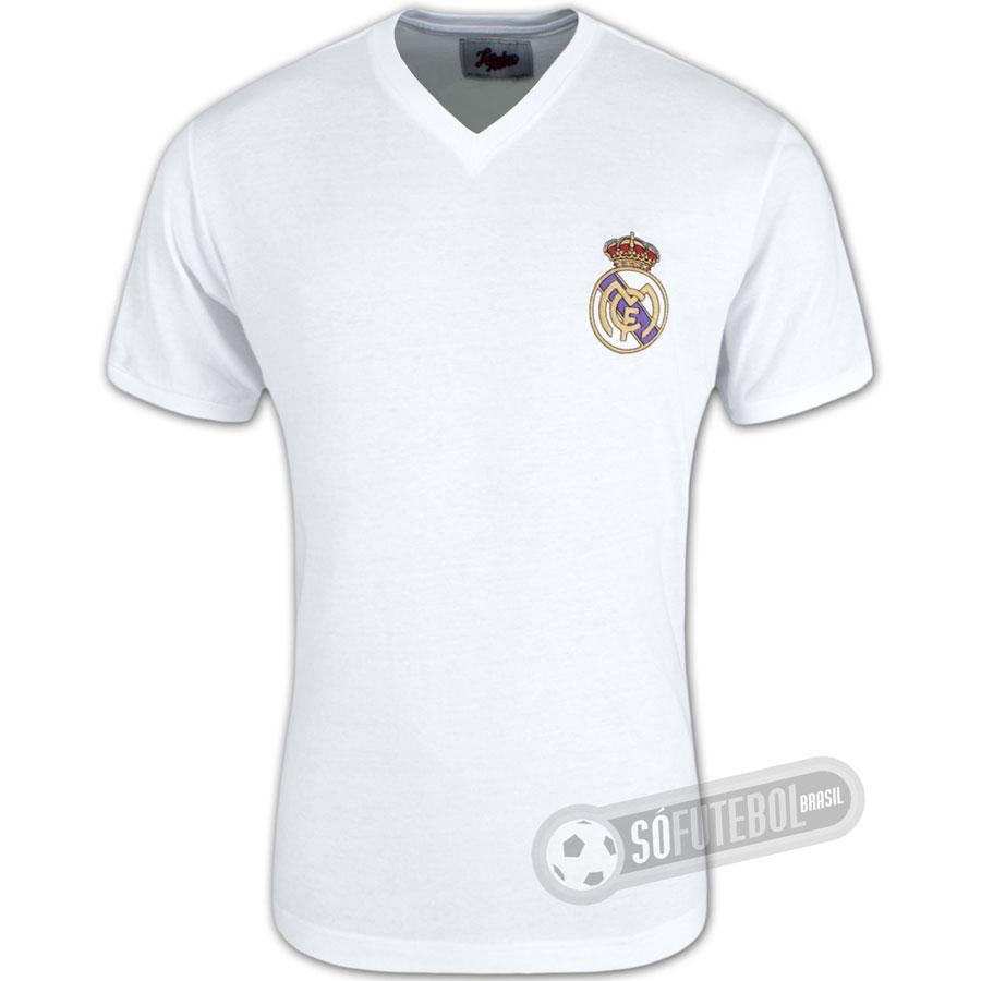 Camisa Real Madrid 1960 - Modelo I - Liga Retrô. Carregando. bc4be4e299df6