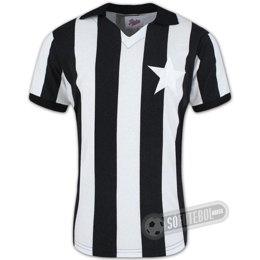 Camisa Botafogo 1962 - Modelo I - Liga Retrô. Carregando. 0d3d1f0eb76e0