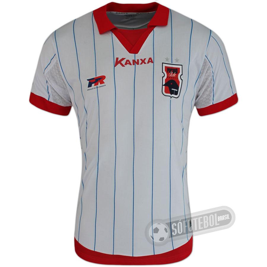 a86d9ff8d664d Camisa Paraná Clube - Modelo II. Carregando.