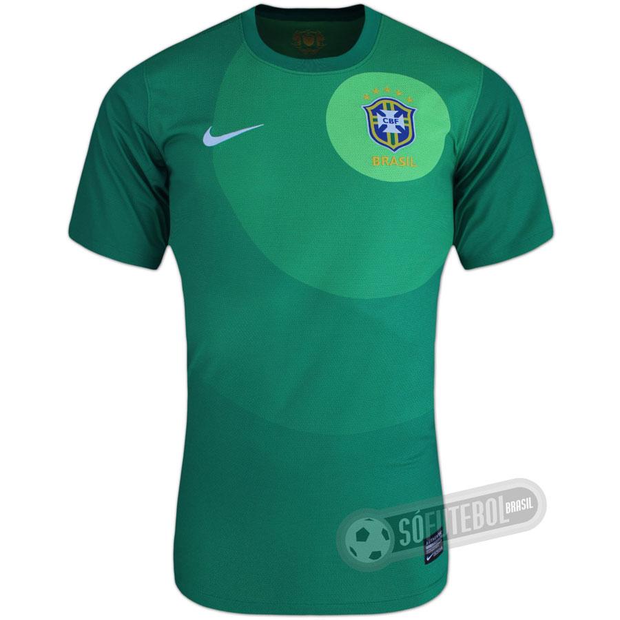Camisa Brasil - Goleiro. Carregando. e44e52d9bc857