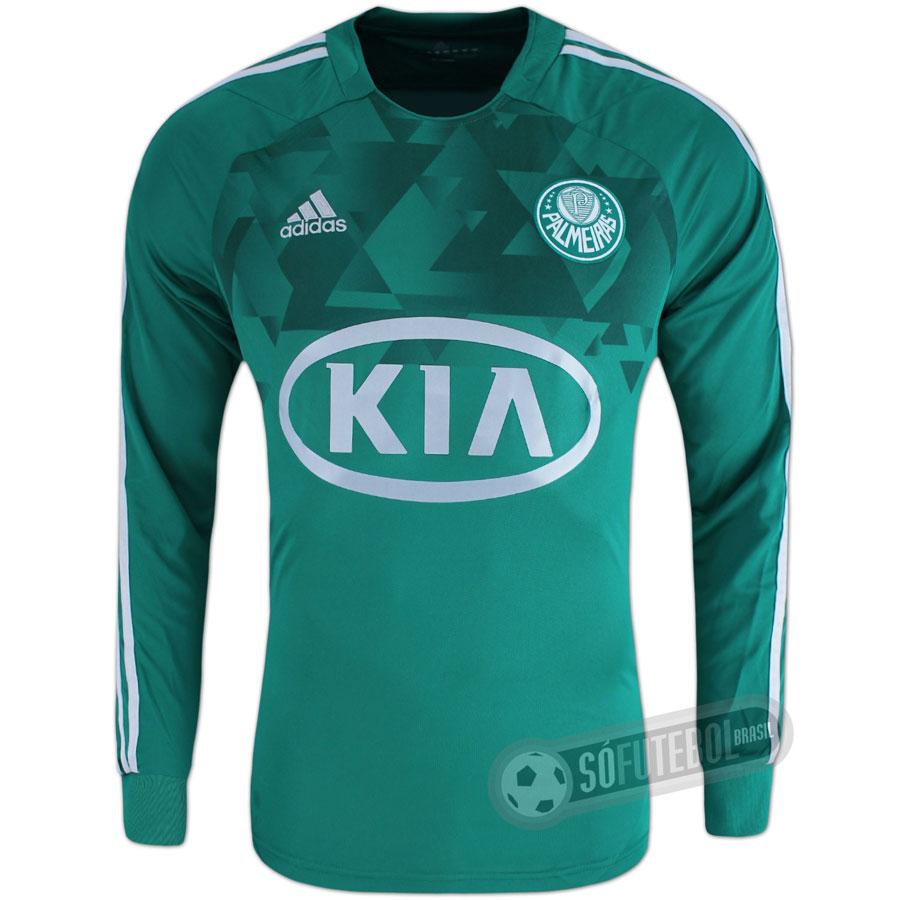 Camisa Palmeiras - Modelo I - Manga Longa d4e78b1047789