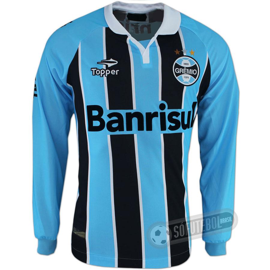 3e564742d0 Camisa Grêmio - Modelo I - Manga Longa. Carregando.