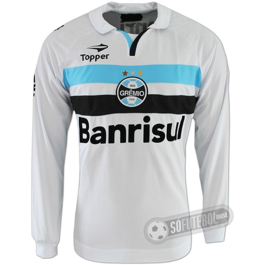 Camisa Grêmio - Modelo II - Manga Longa 5dbf8ccb1b1f5