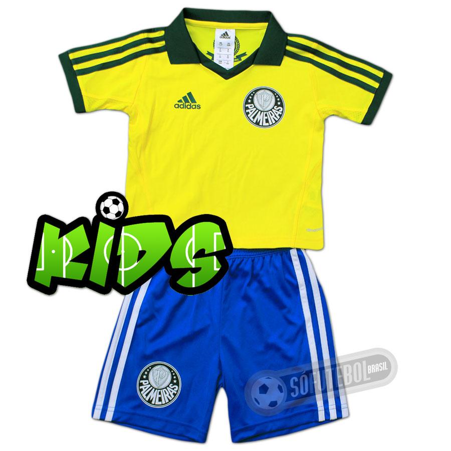 Kit Infantil Palmeiras - Modelo III. Carregando. b4f45022e48d2