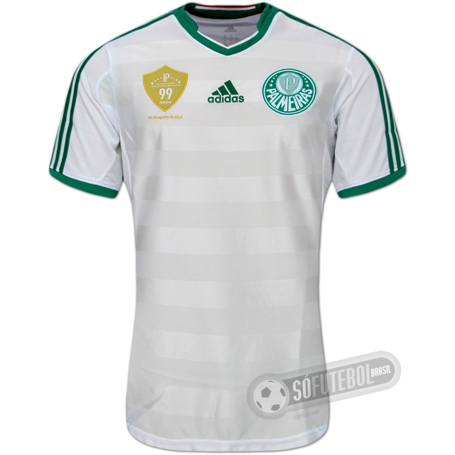 a9212e81ba4a2 Camisa Palmeiras - Modelo II - 99 Anos