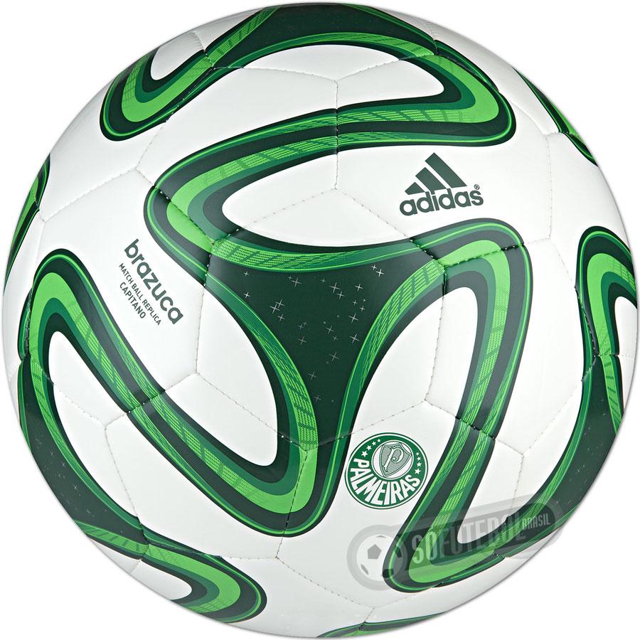 49536a192 Bola Adidas Brazuca WC 2014 - Palmeiras