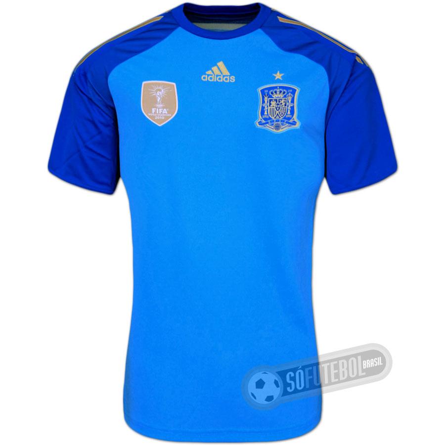 Camisa Espanha - Goleiro 99896e74f11c1