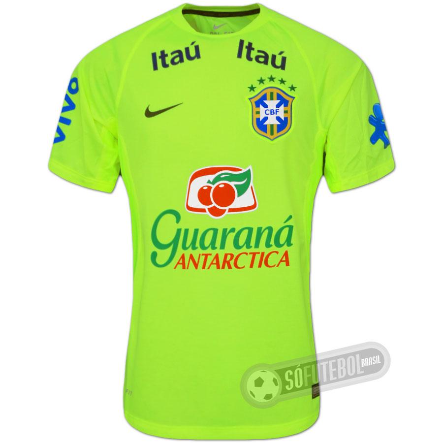 Camisa Brasil - Treino. Carregando. 150f8be0db82f