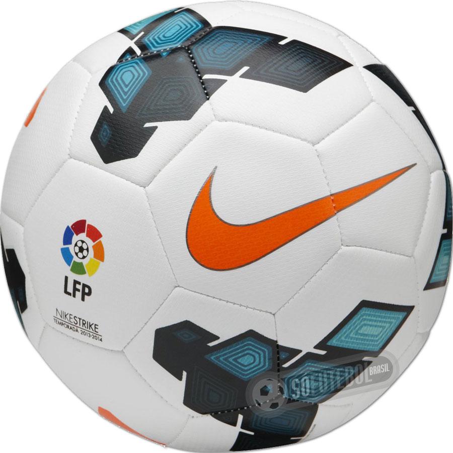 f64830c4ff Bola De Futebol De Campo Nike Strike La Liga
