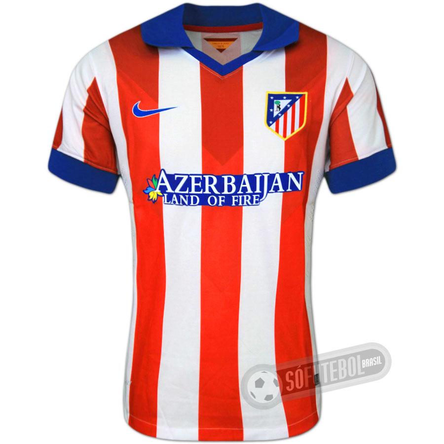 b61825be40 Camisa Atlético de Madrid - Modelo I. Carregando.
