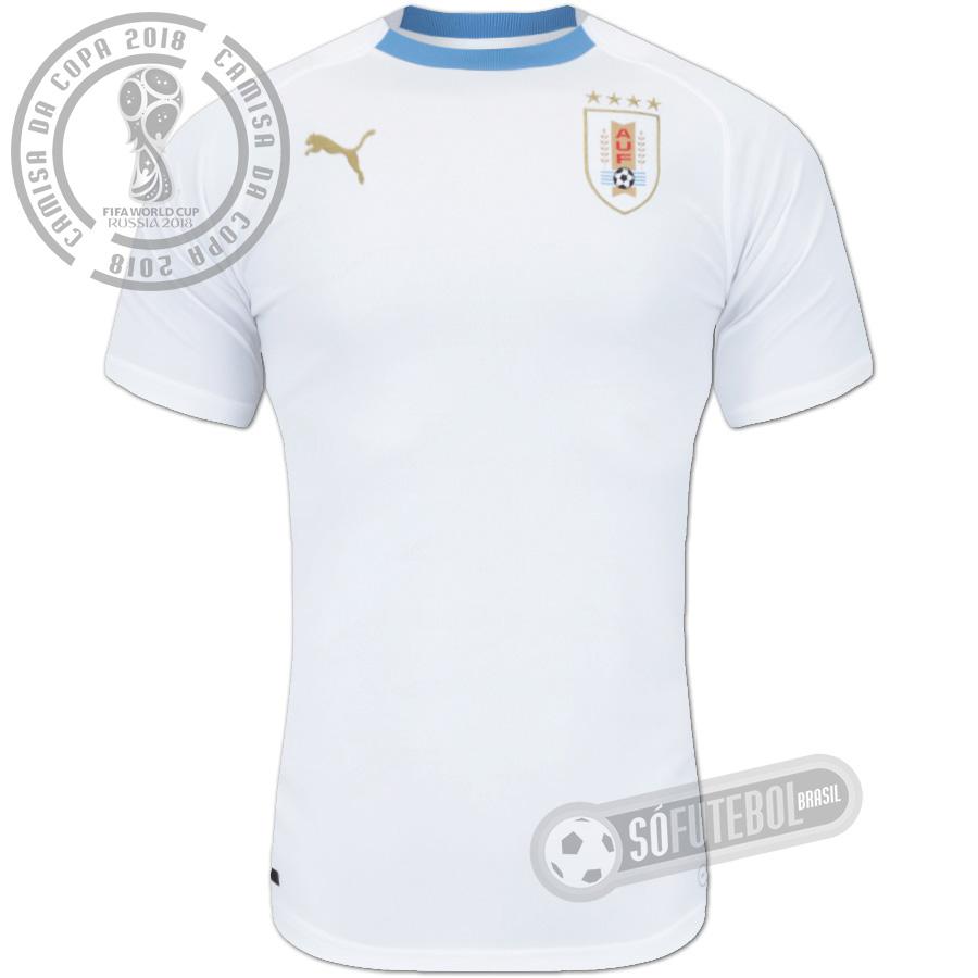 Camisa Uruguai - Modelo II 00dffab00ca71