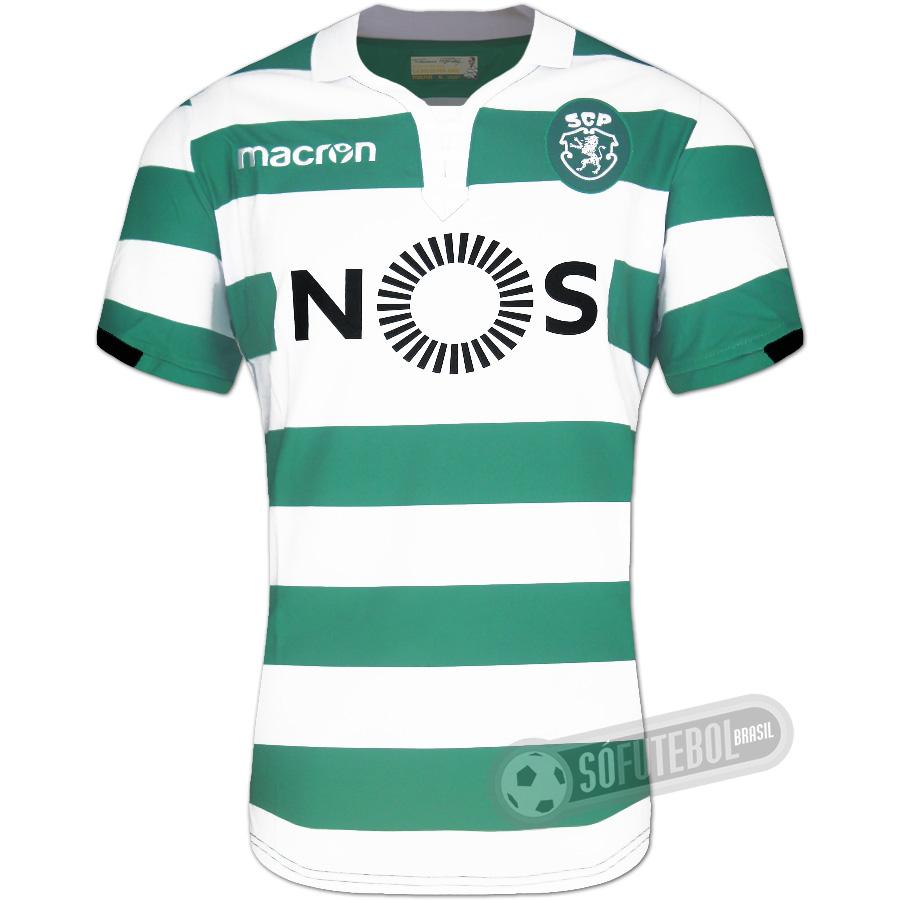 f5ca3c0ab6 Camisa Sporting - Modelo I