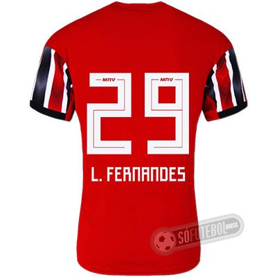 Camisa São Paulo - Modelo II (L. FERNANDES #29)
