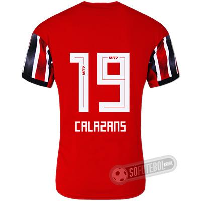 Camisa São Paulo - Modelo II (CALAZANS #19)