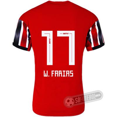 Camisa São Paulo - Modelo II (W. FARIAS #17)