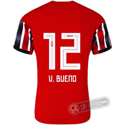 Camisa São Paulo - Modelo II (V. BUENO #12)