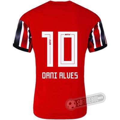 Camisa São Paulo - Modelo II (DANI ALVES #10)