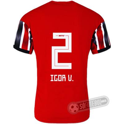 Camisa São Paulo - Modelo II (IGOR V. #2)