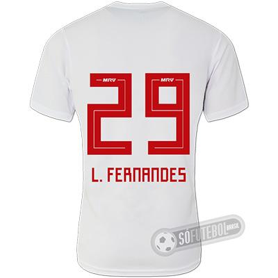 Camisa São Paulo - Modelo I (L. FERNANDES #29)
