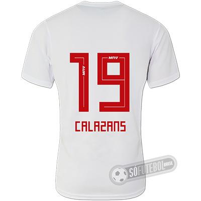 Camisa São Paulo - Modelo I (CALAZANS #19)