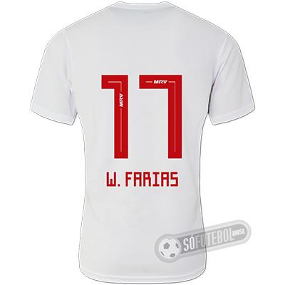 Camisa São Paulo - Modelo I (W. FARIAS #17)
