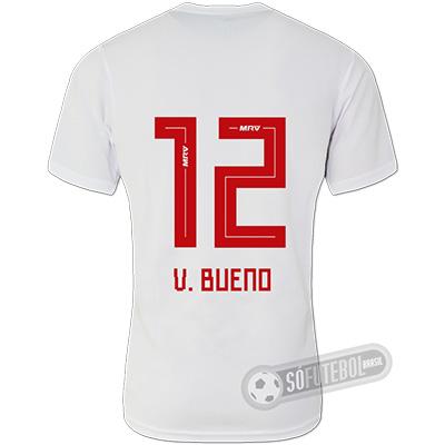 Camisa São Paulo - Modelo I (V. BUENO #12)