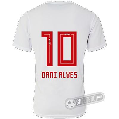 Camisa São Paulo - Modelo I (DANI ALVES #10)